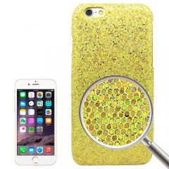 Funda iPhone 6 Carcasa Brillante Amarilla