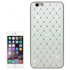 Funda iPhone 6 Carcasa Bling Blanca