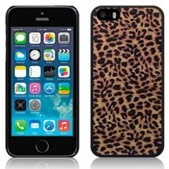 Funda iPhone 5C Carcasa Leopardo