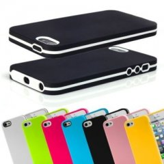 Funda iPhone 5 Gel Tpu Hybrid