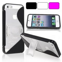 Funda iPhone 5 Gel Tpu Soporte