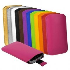 Funda iPhone 5 Cuero Pouch