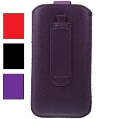 Funda iPhone 5 Cuero Pasador Cinturon