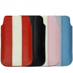 Funda iPhone 5 Cuero Pouch Linea