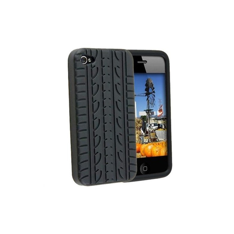 Funda iphone 4 silicona neumatico - Fundas iphone silicona ...