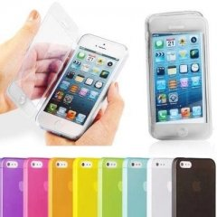 Funda iPhone 4S Gel Flip Cover