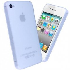 Funda iPhone 4S Gel Extra Fina 0,3mm Anti Huella Transparente