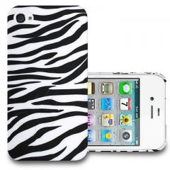 Funda iPhone 4S Gel Cebra