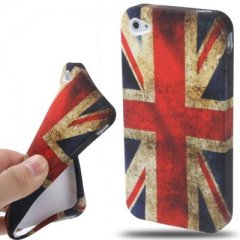 Funda iPhone 4S Gel Reino Unido