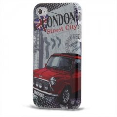 Funda iPhone 4S Carcasa London Mini