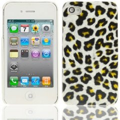 Funda iPhone 4S Carcasa Leopardo