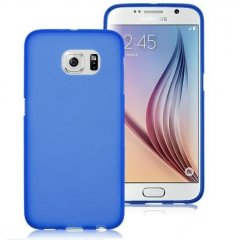 Funda Samsung Galaxy S6 Gel Azul