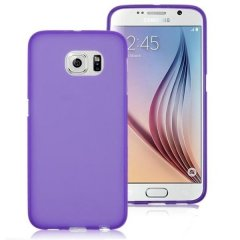 Funda Samsung Galaxy S6 Gel Morada