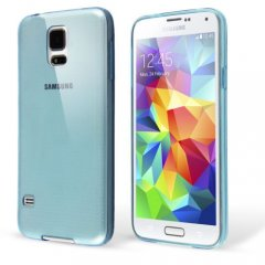 Funda Samsung Galaxy S5 Gel Extra Fina 0,3mm Azul