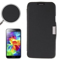 Funda Samsung Galaxy S5 Mini Cartera Slim Negra