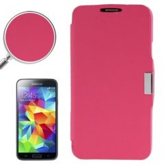 Funda Samsung Galaxy S5 Mini Cartera Slim Rosa