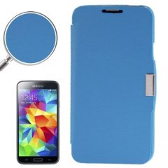 Funda Samsung Galaxy S5 Mini Cartera Slim Azul