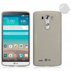Funda LG G3 Gel Extra Fina 0,3mm Smoke