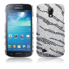 Funda Samsung Galaxy S4 Mini Carcasa Bling Cebra