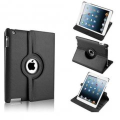 Funda Ipad Mini 360º Cuero Negra