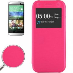 Funda hTC One Mini 2 S-View Rosa