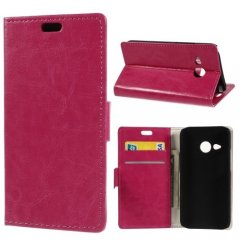 Funda hTC One Mini 2 Cuero Stand Rosa