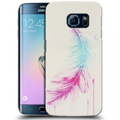 Funda Samsung Galaxy S6 Edge Gel Pluma