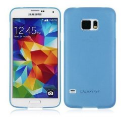 Funda Samsung Galaxy S6 Gel Extra Fina 0,3mm Azul
