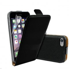 Funda iPhone 6 Cuero Negra