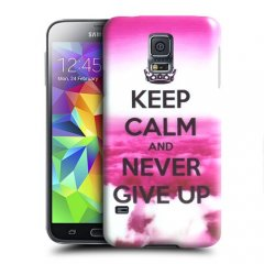 Funda Samsung Galaxy S5 Gel Keep Calm