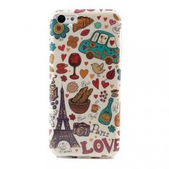 Funda iPhone 5C Carcasa Love Francia