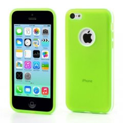 Funda iPhone 5C Gel Tpu Hybrid Lima