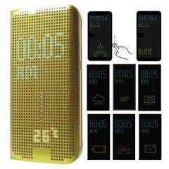 Funda Galaxy S6 Edge Smart DOT Dorada