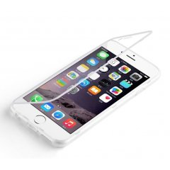 Funda iPhone 6 Gel Flip Transparente