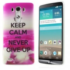 Funda LG G3 Gel Keep Calm