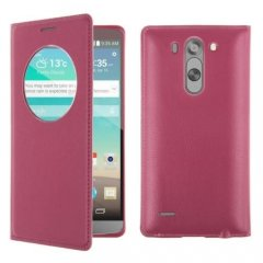 Funda LG G3 S Quick Circle Rosa