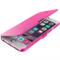 Funda iPhone 6 Cuero Rosa XFina