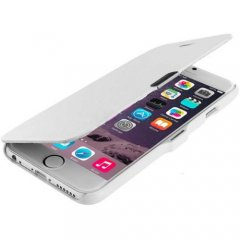 Funda iPhone 6 Cuero Blanca XFina