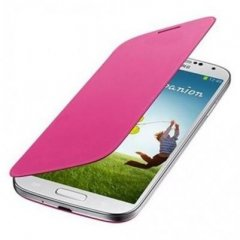 Funda Samsung Galaxy S4 Mini Flip Cover Rosa
