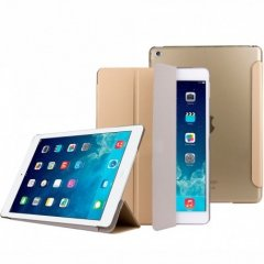Smart Cover iPad 2, 3 4 extra Fina Dorada