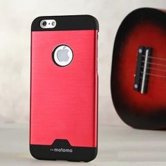 Funda iPhone 7 Carcasa Aluminio Rojo