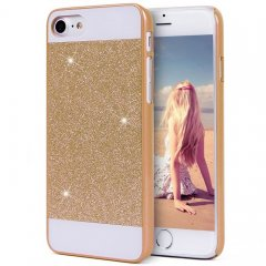 Funda iPhone 7 Carcasa Star Diamantes