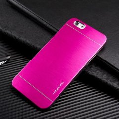 Funda iPhone 6 Carcasa Aluminio Rosa