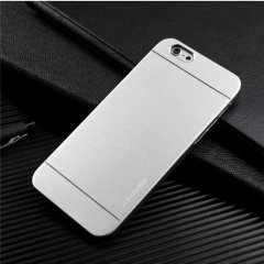 Funda iPhone 6 Carcasa Aluminio Plata