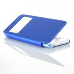 Funda iPhone 6 Plus S-View Cuero Azul