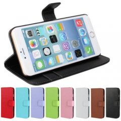 Funda iPhone 6 Plus Stand Soporte Cuero