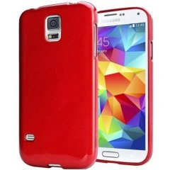 Funda Samsung Galaxy s5 Gel Roja