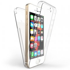 Funda Iphone 5 Gel Doble cara Transparente