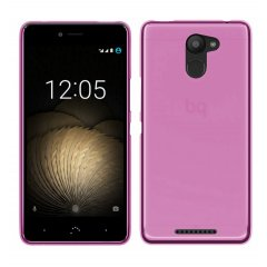 Funda BQ Aquaris X5 Plus Gel Rosa
