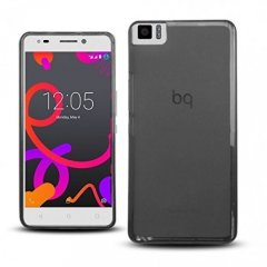 Funda BQ Aquaris M5 Gel Negra